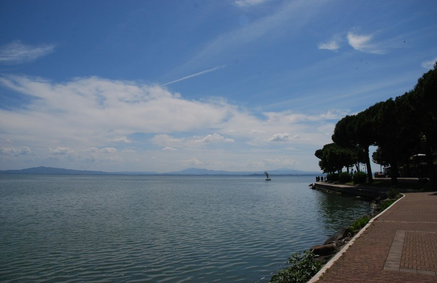 One week in Umbria along Trasimeno Lake
