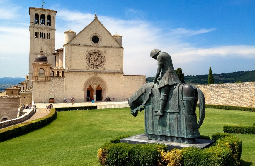 St. Francesco's Way: from Pietralunga to Assisi