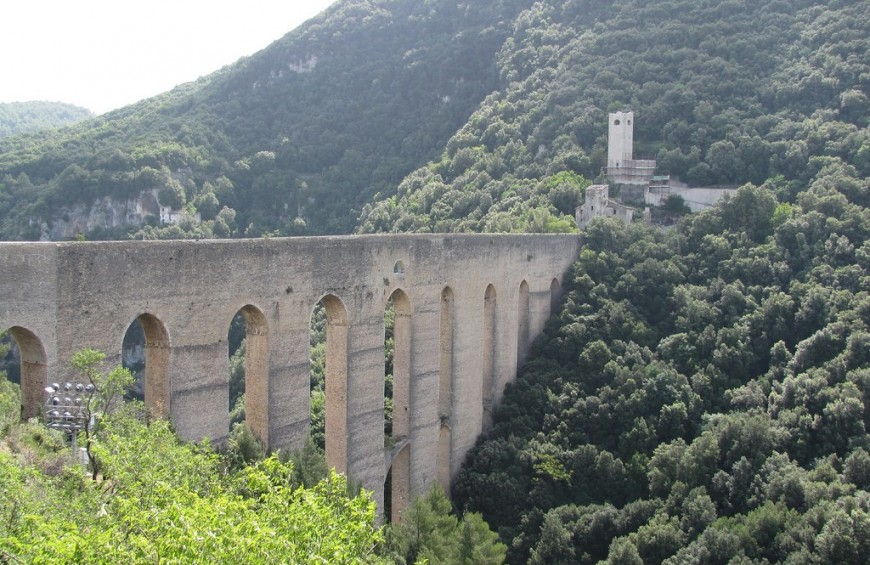 St. Francesco's way: from Spoleto to Assisi