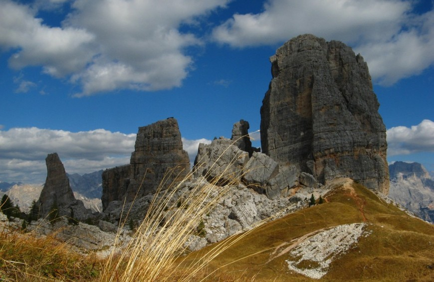 Trekking on Dolomites, memory places of First World War