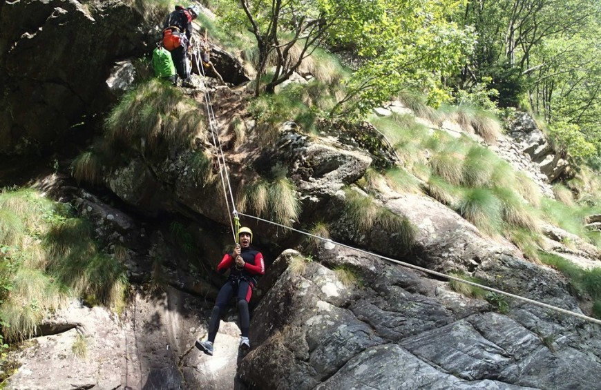 Canyoning in Valsesia - Classic itinerary Rio Laghetto
