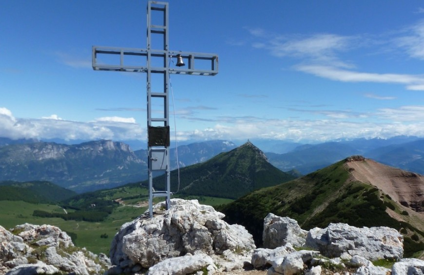 "Trekking ""Reserve natural Three tops of the Bondone"" - Bondone Mountain- Trentino"
