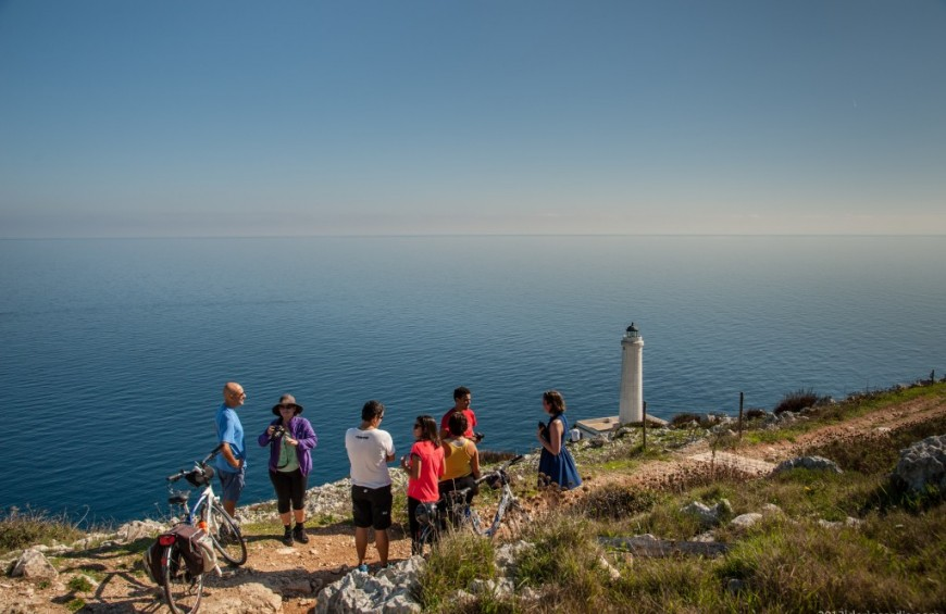 Inland bike excursion from Otranto