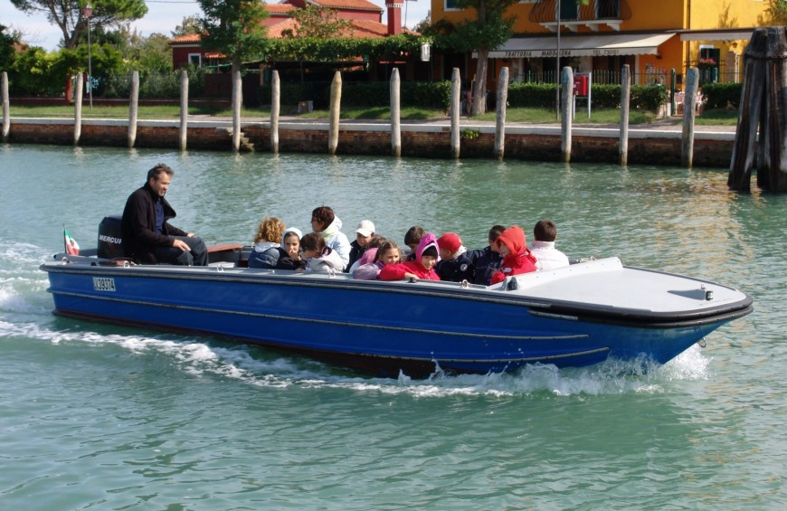 Venice Lagoon wine and food itinerary by boat