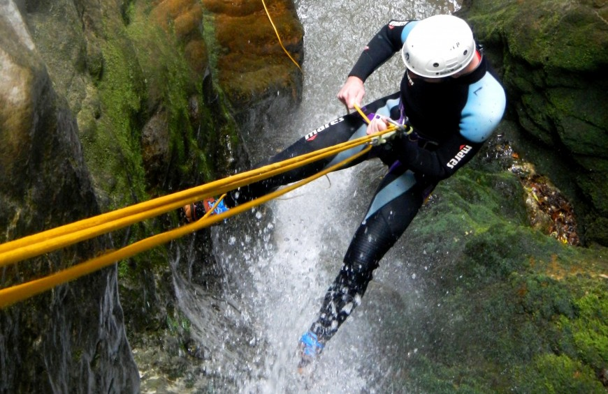 Canyoning in Fosso Feiole