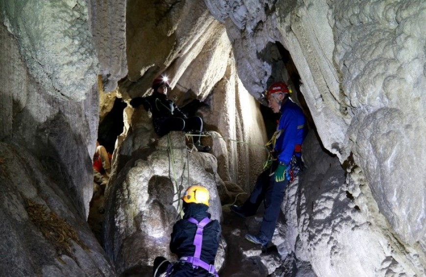 Marmore Falls - speleological excursion