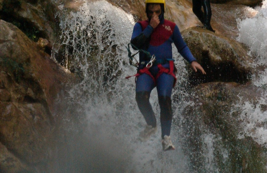 Canyoning Torrente Selvano