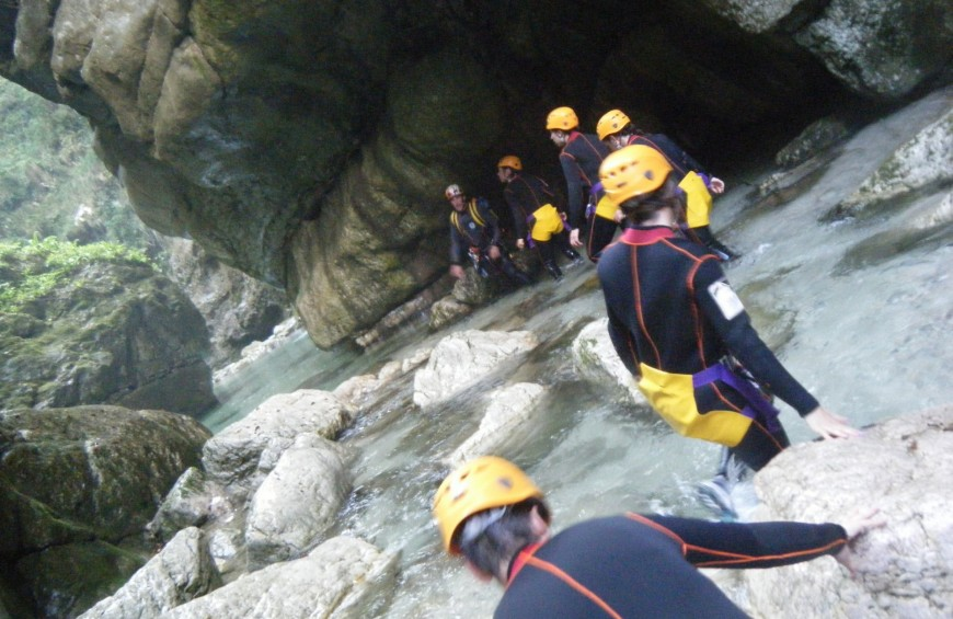 Canyoning in River Torna - Cilento National Park