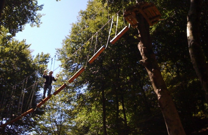 Adventure Park in Emilia Romagna - ticket entrance and lunch