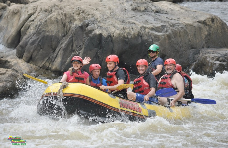 Rafting in Campania - Adventure on the river