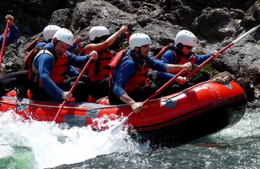 Rafting in Dora Baltea