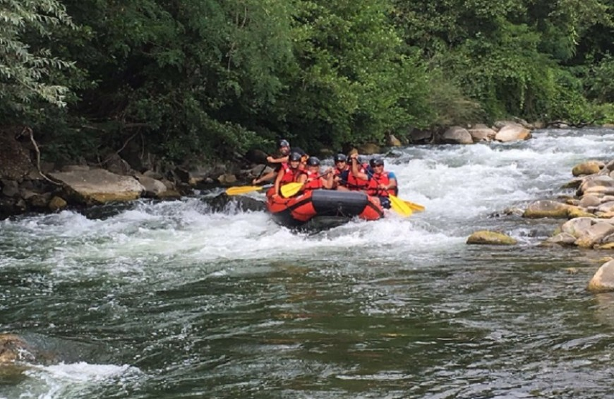 Rafting in Bagni di Lucca (since September to June) | Dreavel