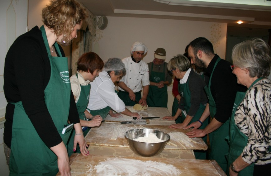 Typical Umbrian and Valnerina cooking class