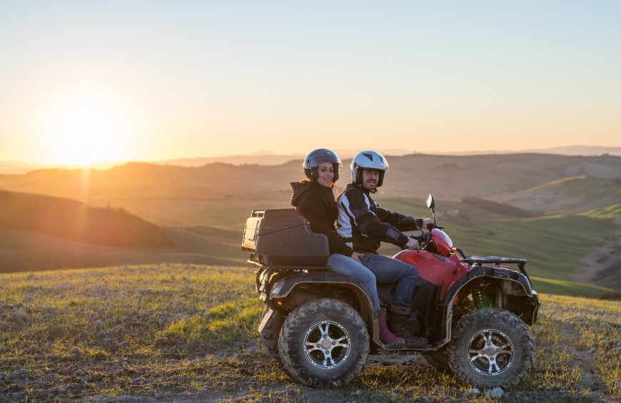 Quad Night Tour in Toscana