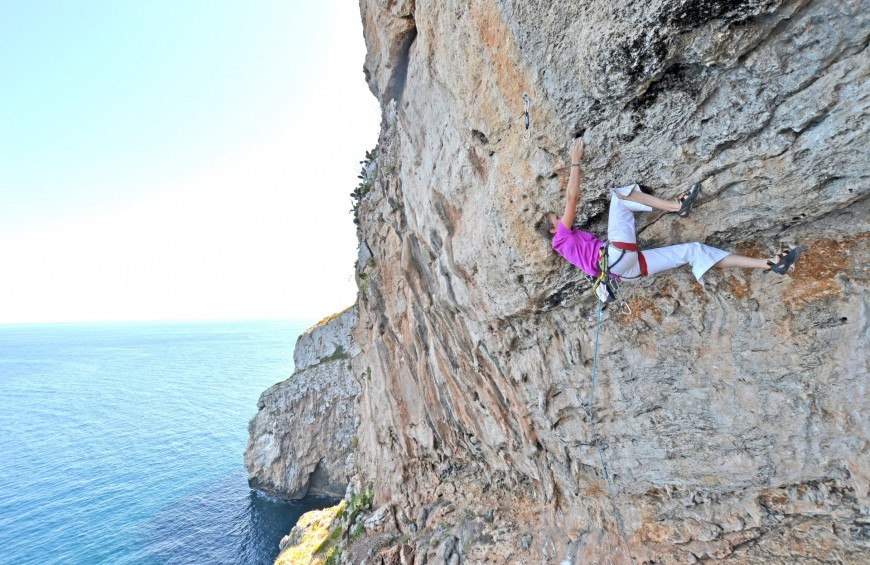 Climbing e vie ferrate in Salento