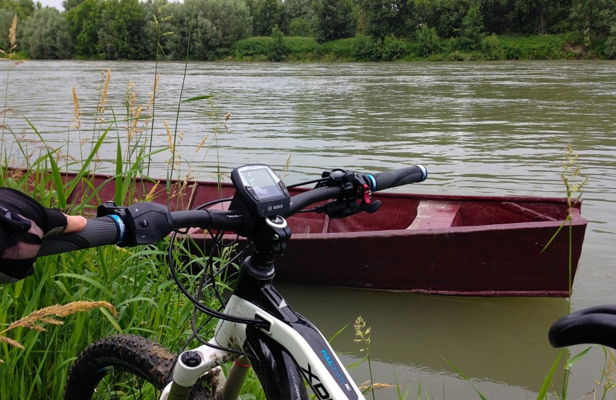 Bike & Boat in the Park of the Delta Po