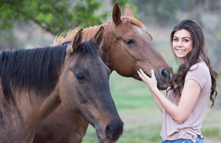 Passion for horses: one day in a farm!