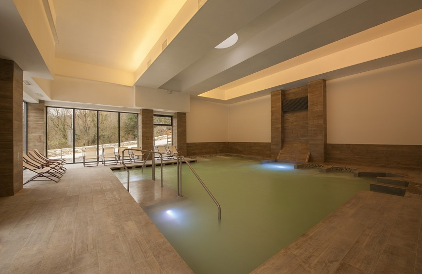 Wellness for TWO: thermal bath and couple massage!