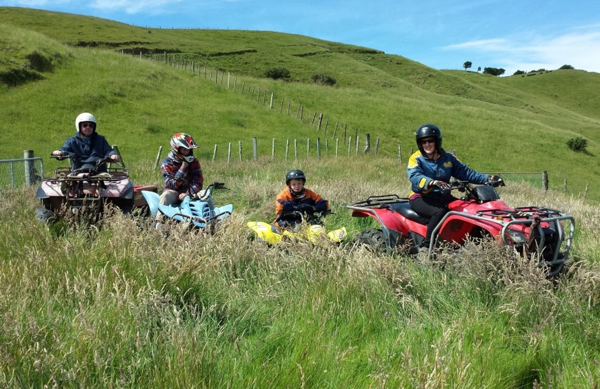 Quad excursion in the Menotre valley