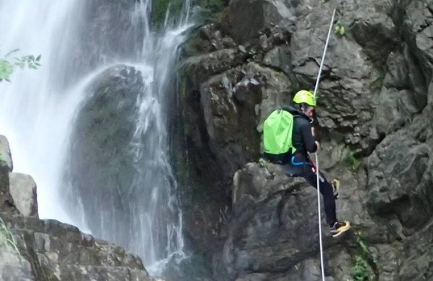 Canyoning Adventure Acquetta in Lunigiana