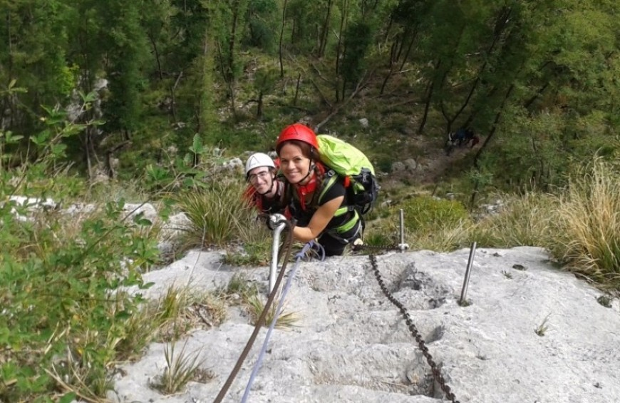 "Via Ferrata ""Alpi Apuane"""