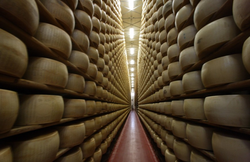 The art of Parmigiano Reggiano: visit and tasting