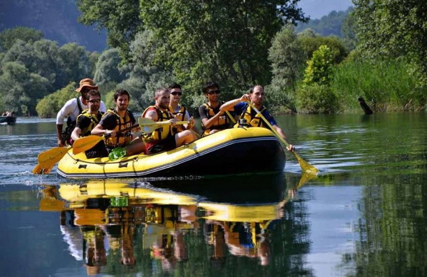 Soft Rafting - Adda River