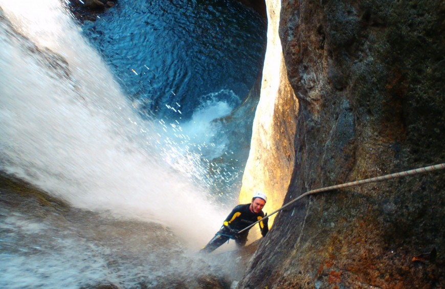 Canyoning Orobie Alps