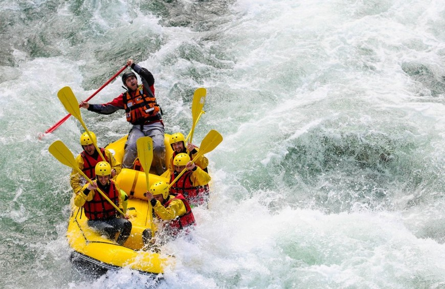 Rafting in Valsesia - Gorges Gole del Sesia